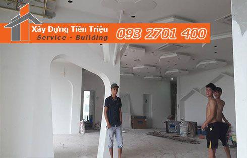 Tiền Triệu Chuyên Nhận Thi Công Vách Trần Tạch Cao Với Gía Rẻ Nhất Quận 5.