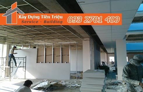 Tiền Triệu Chuyên Nhận Thi Công Vách Trần Tạch Cao Với Gía Rẻ Nhất Quận 8.