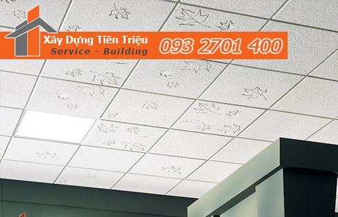 Bảng giá đóng trần thạch cao thả ở Quảng Ngãi 0938265056