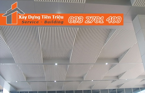 Tiền Triệu cam kết khách hàng dịch vụ đóng la phông alu Quảng Ngãi uy tín.