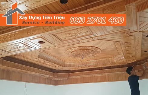 Bảng giá đóng la phông bằng gỗ Quảng Ngãi tư vấn 0938265056