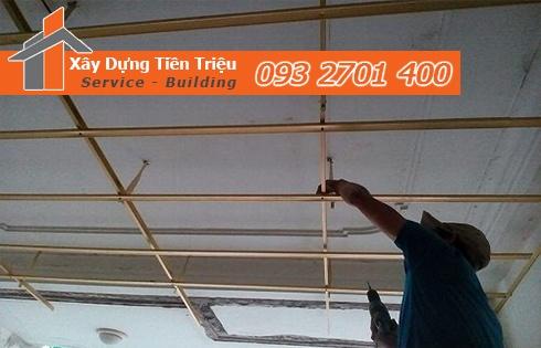 Đóng la phông phòng trọ Quảng Ngãi gọi tư vấn 0938265056