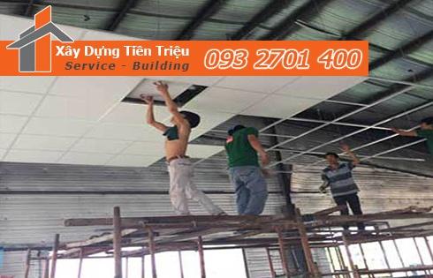 Dịch vụ đóng la phông nhà trọ Quảng Ngãi.