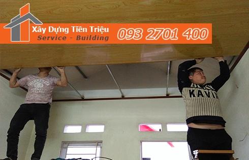 Bảng giá đóng la phông tôn Quảng Ngãi gọi tư vấn 0938265056