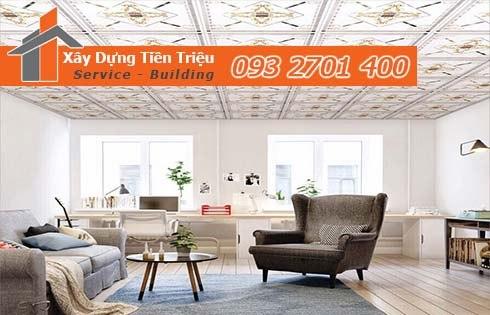 Bảng giá đóng la phông trần thả Quảng Ngãi tư vấn 0938265056