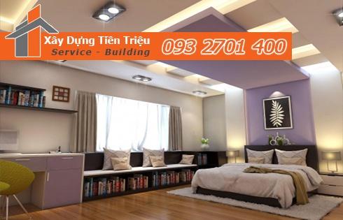 Tiền Triệu chuyên nhận đóng trần thạch cao giật cấp ở Quảng Ngãi.