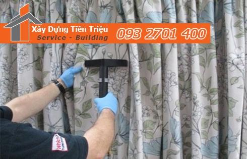 Dịch vụ giặt màn cửa rèm cửa Quận 6 giá rẻ 0938265056