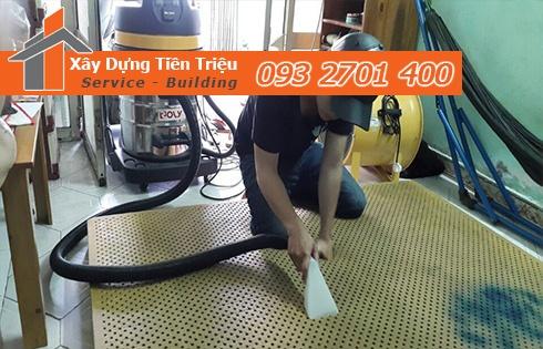 Giặt nệm sofa lò xo Kymdan tại nhà Huyện Bình Chánh 0938265056