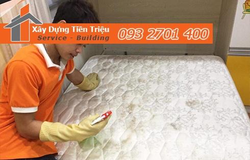 Giặt nệm sofa lò xo Kymdan tại nhà Huyện Củ Chi 0938265056