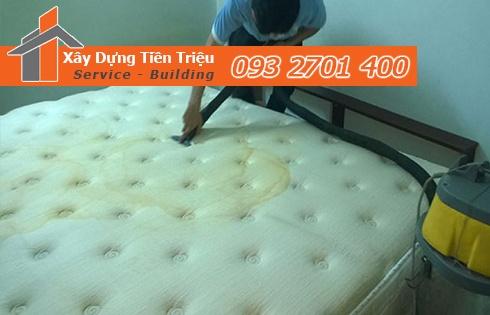 Giặt nệm sofa lò xo Kymdan tại nhà Huyện Nhà Bè 0938265056