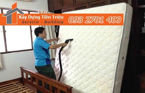 Giặt nệm sofa lò xo Kymdan tại nhà Quận 1 Sát Khuẩn 99% uy tín