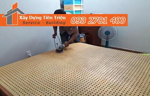 Giặt nệm sofa lò xo Kymdan tại nhà Quận 10 sạch sẽ 0938265056