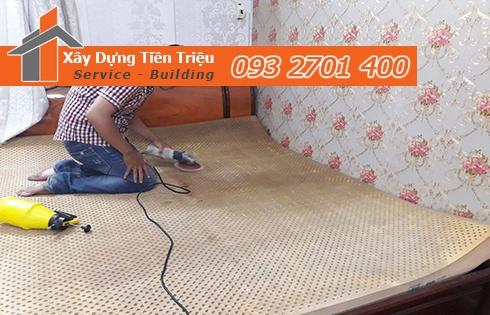 Giặt nệm sofa lò xo Kymdan tại nhà Quận 11 giá rẻ 0938265056