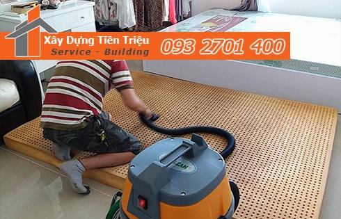 Giặt nệm sofa lò xo Kymdan tại nhà Quận 3 giảm 20% 0938265056