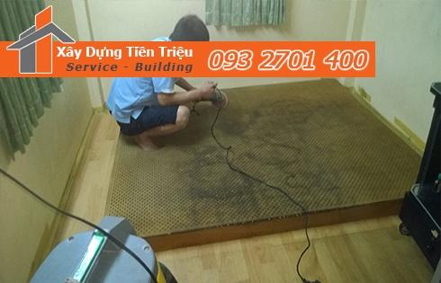 Giặt nệm sofa lò xo Kymdan tại nhà Quận 4 uy tín 0938265056