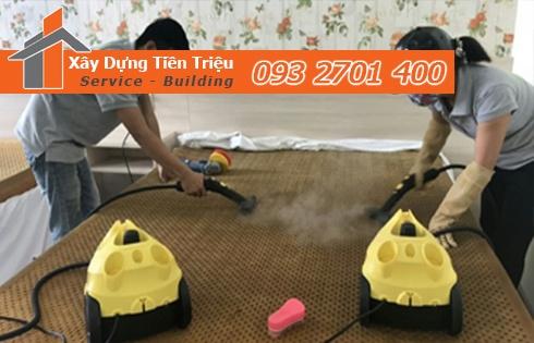 Giặt nệm sofa lò xo Kymdan tại nhà Quận Bình Tân 0938265056