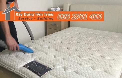 Giặt nệm sofa lò xo Kymdan tại nhà Quận Bình Thạnh 0938265056