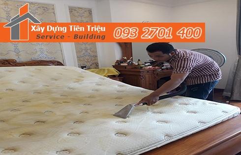 Giặt nệm sofa lò xo Kymdan tại nhà Quận Tân Bình 0938265056
